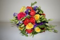 Картинка фото, Цветы, Розы, Букеты, Эустома