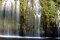 Картинка трава, природа, река, водопад