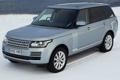 Картинка передок, ленд ровер, автомобиль, Range Rover, Land Rover, TDV6, снег