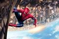 Картинка город, нью йорк, питер паркер, человек паук 2, THE AMAZING SPIDER-MAN 2