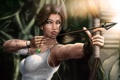 Картинка lara croft, tomb raider, art, bow, arrow