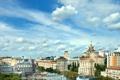 Картинка фото, Небо, Облака, Дома, Город, Украина, Киев