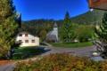 Картинка деревья, город, фото, улица, дома, Германия, Berchtesgaden