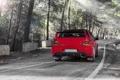 Картинка дорога, красный, Mitsubishi, red, Evo, митсубиши, эволюшн