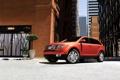 Картинка машины, город, дома, ford, форд, edge, авто обои