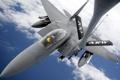 Картинка небо, самолёт, F-15E Strike Eagle