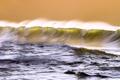Картинка море, волны, брызги, океан