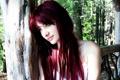 Картинка взгляд, задумчивость, дерево, рыжая, сьюзан коффи, susan coffey