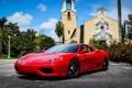 Картинка sportcar, феррари, красная, автообои, ferrari 360