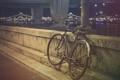 Картинка велосипед, камень, фильтры