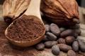 Картинка зерна, ложка, какао