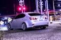 Картинка Lexus, Night, Tuning, Back, 350, Railroad, Wald