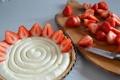 Картинка ягоды, еда, клубника, торт, пирожное, cake, десерт