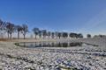Картинка небо, снег, деревья, пейзаж, природа