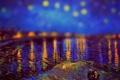 Картинка tilt shift, ван гог, картина