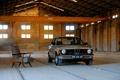 Картинка фон, кресло, ангар, автомобиль, покрытие, BMW 315