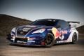 Картинка Hyundai, Спортивный авто, Red Bull, синий, Genesis