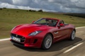 Картинка car, Jaguar, red, road, F-Type