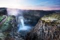 Картинка пейзаж, водопад, United States, Washington, Joso