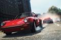 Картинка гонка, полиция, погоня, Porsche, классика, chevrolet corvette, need for speed most wanted 2