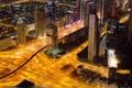 Картинка ночь, город, огни, ночной город, Dubai