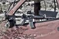 Картинка машина, оружие, AR-15, штурмовая винтовка