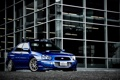 Картинка Impreza, Subaru, импреза, субару, здание, синяя, blue