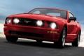 Картинка авто, фары, тачка, 2005, Mustang GT