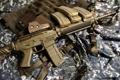 Картинка оружие, фон, Sig556 EOtech