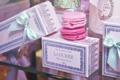 Картинка коробка, розовое, печенье, макарун, коробочка