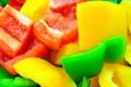 Картинка кусочки, овощи, болгарский перец