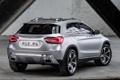 Картинка Concept, Mercedes-Benz, концепт, мерседес, вид сзади, GLA