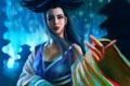 Картинка волосы, гейша, япония, арт, взгляд. лицо, девушка