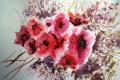 Картинка цветы, картина, акварель