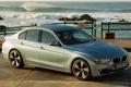 Картинка BMW, машина, вид сбоку, ActiveHybrid 3, бэха, серая