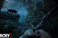 Картинка ночь, пантера, лук, 2012, Ubisoft, Far Cry 3, Ubisoft Montreal