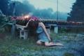 Картинка девушка, настроение, вечер