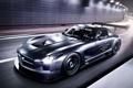 Картинка Mercedes-Benz, AMG, SLS, GT3, передок, 45th Anniversary