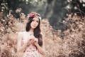 Картинка взгляд, девушка, настроение, азиатка