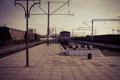 Картинка дорога, путь, рельсы, вокзал, Поезд