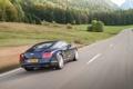Картинка Bentley, Continental, Дорога, Горы, Синий, Лес, Машина