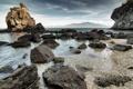 Картинка море, небо, камни, скалы, берег, пророда