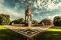 Картинка Кенсингтонский сад, England, Великобритания, Лондон, Англия, London, Мемориал принца Альберта