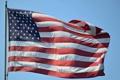 Картинка небо, фон, флаг, США