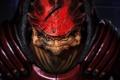 Картинка Рекс, Шрамы, Кроган, Mass Effect 3