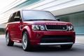 Картинка Лэнд Ровер, передок, ренж ровер, limited edition, Land Rover, скорость, красный