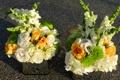 Картинка Букеты, Гортензия, Цветы, фото, Львиный зев, Розы