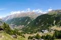 Картинка лес, пейзаж, горы, природа, Швейцария, Visp