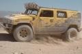 Картинка Пустыня, Hummer, Ралли