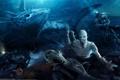 Картинка водолаз, акула, монстры, Bruno Wagner